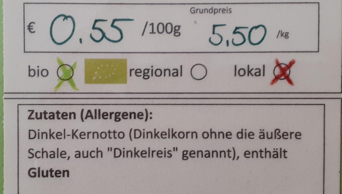 Dinkel-Kernotto