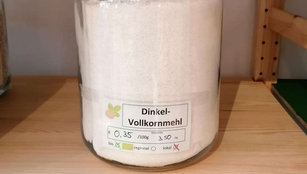Dinkel-Vollkornmehl