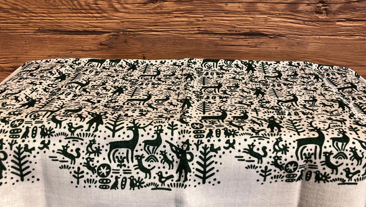 handbedruckte Tischdecken