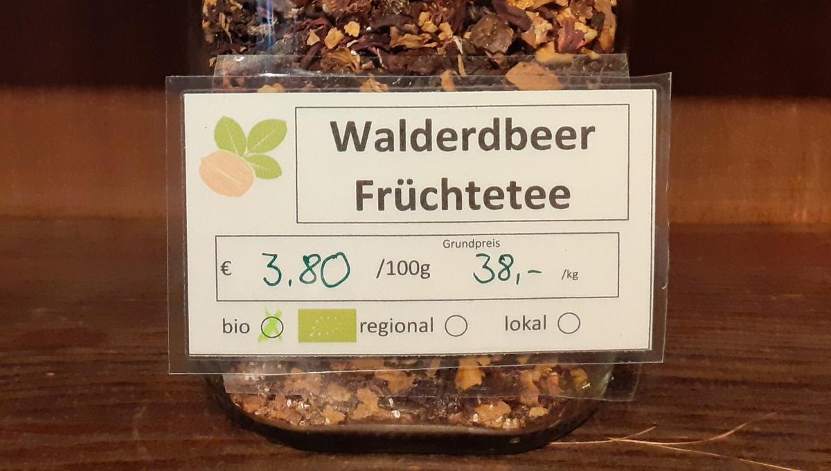 Walderdbeer-Früchtetee