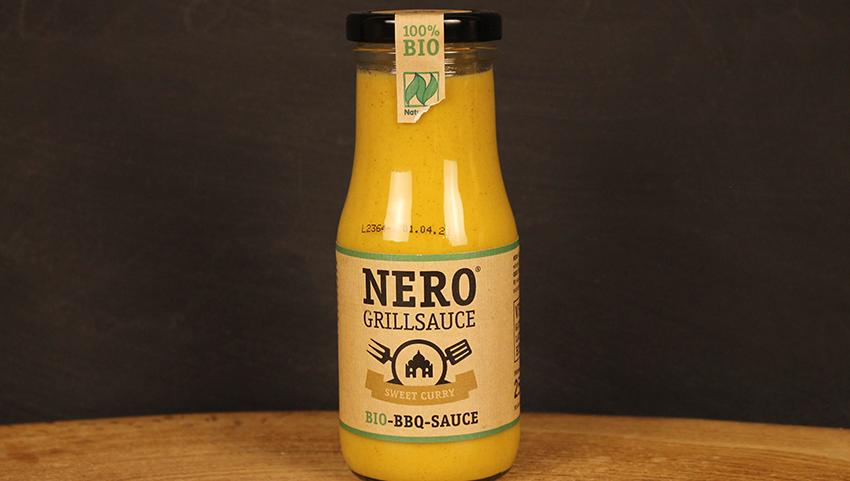 Grillsauce Curry, NERO 250ml