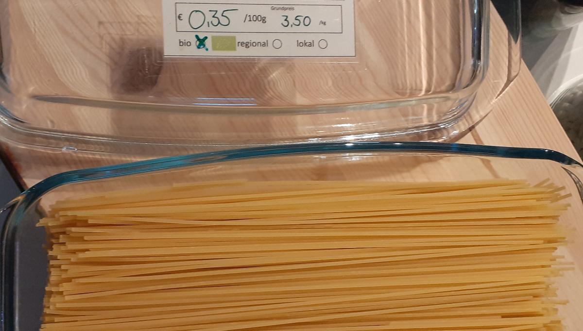 Weizen-Spaghetti