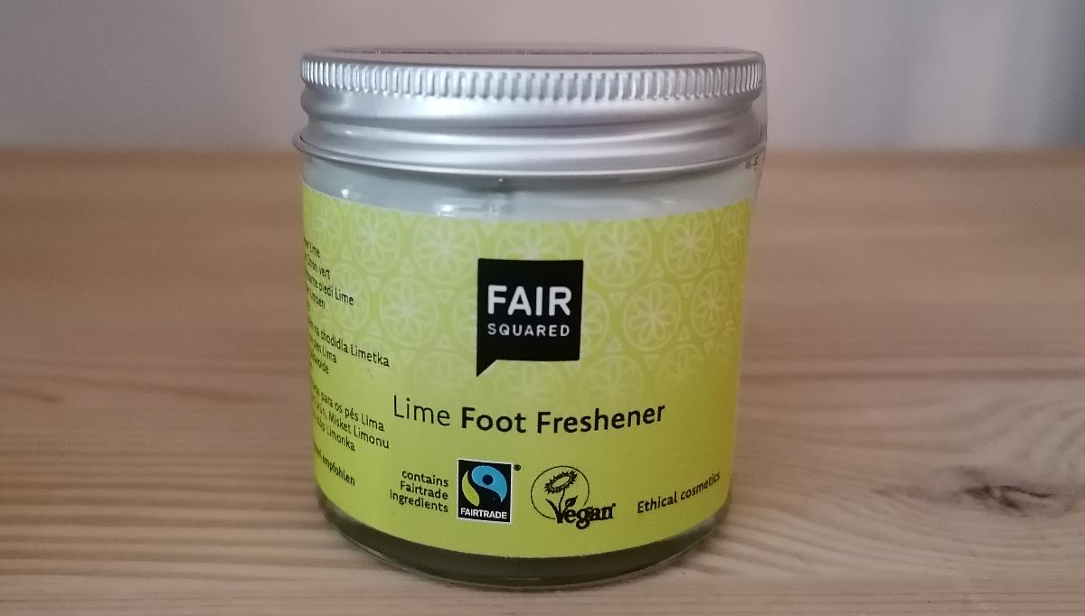 Fair Squared - Foot Freshener Lime