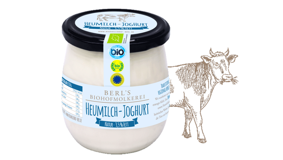 Heumilch Joghurt Natur