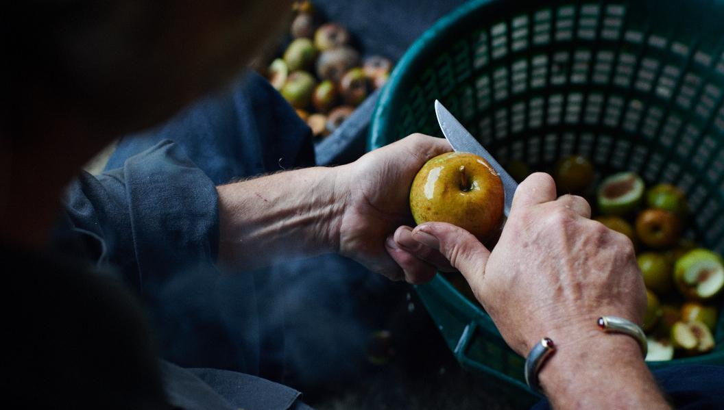 Apfelbrand sortenrein Johnathan