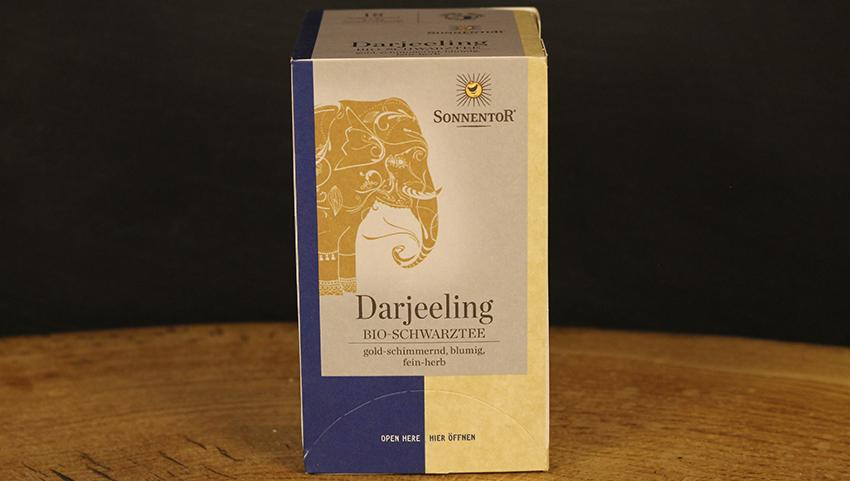 Darjeeling Schwarztee Beutel, Sonnentor 18 Btl