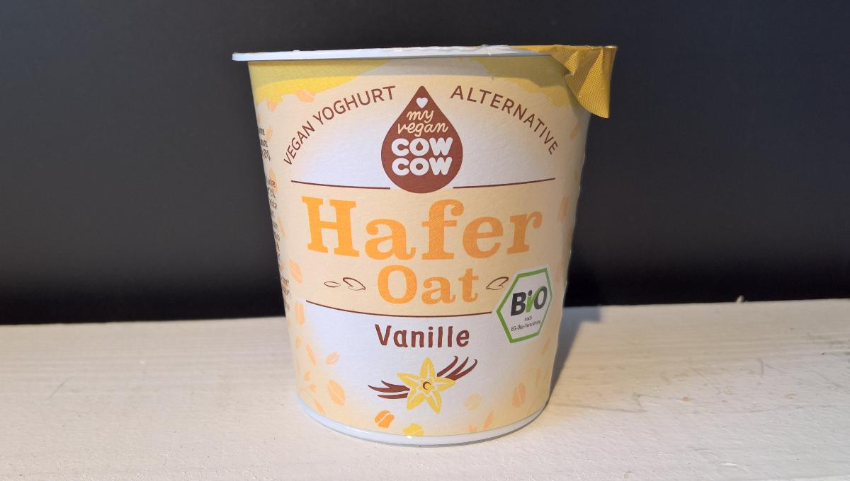 Joghurt Alternative Hafer Vanille