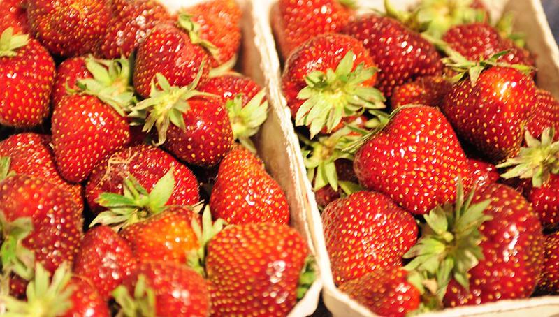 BIOobst, Erdbeeren und Spargel