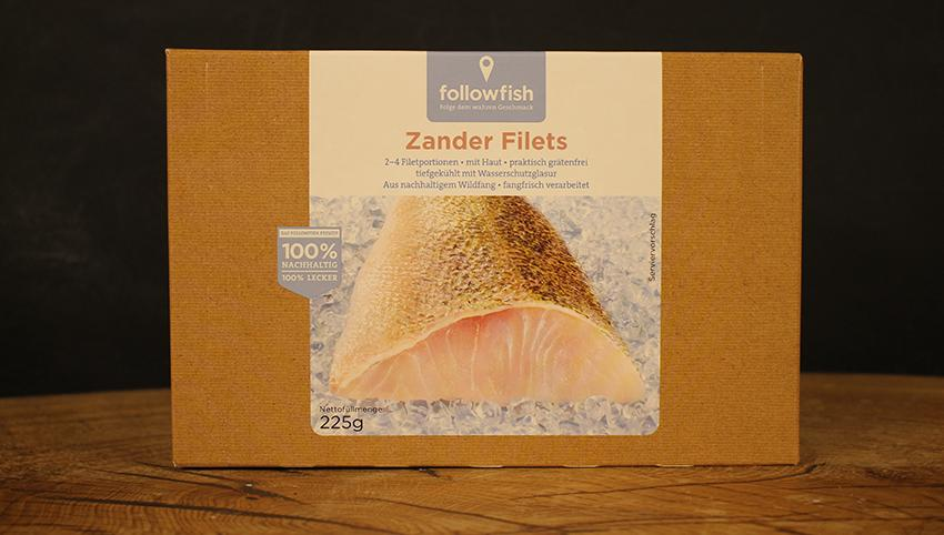 Zanderfilet 250g followfish