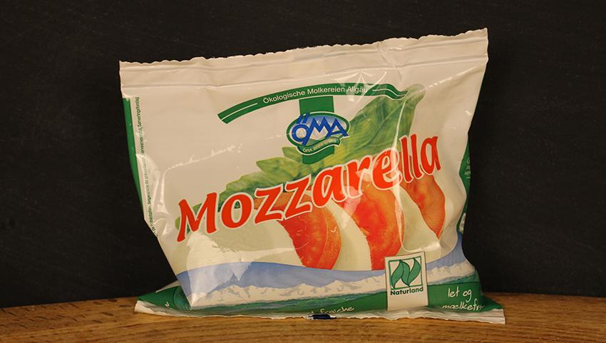 Mozzarella 125g ÖMA