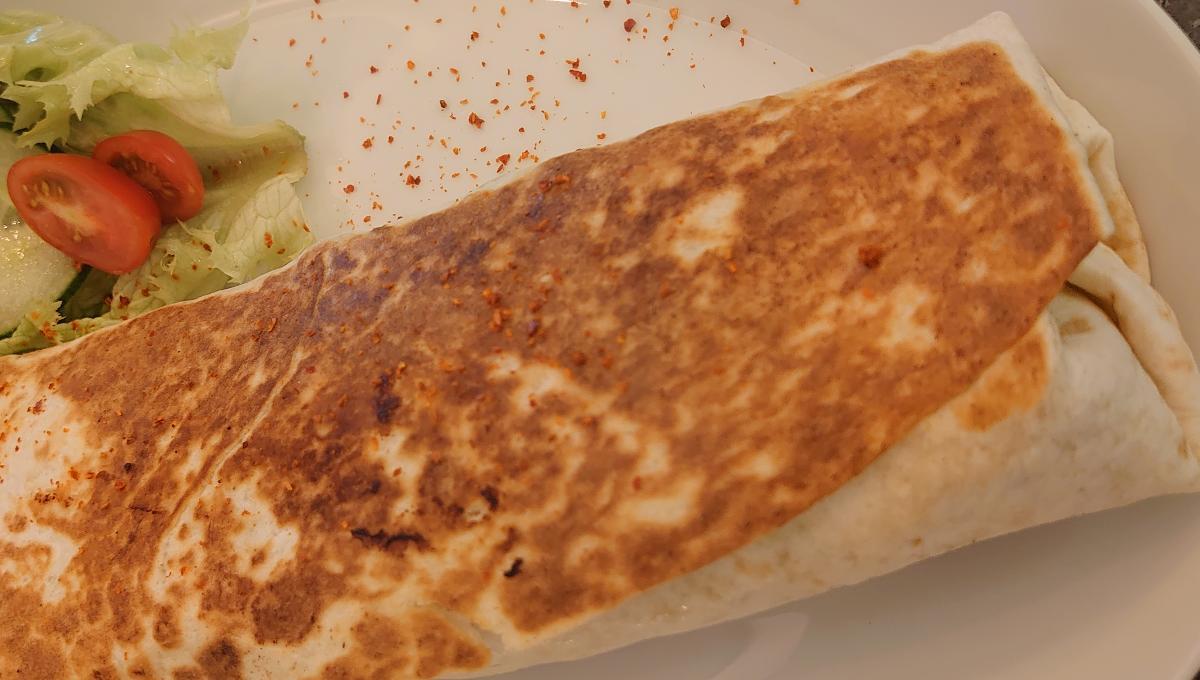 Shawarma mit Falafel