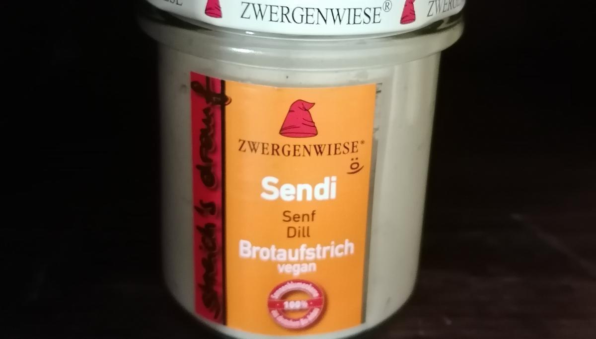 Aufstrich Zwergenwiese: Streich´s drauf - Sendi / Senf und Dill