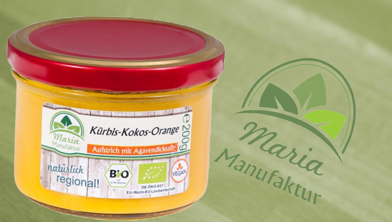 Fruchtaufstrich Kürbis-Kokos-Orange