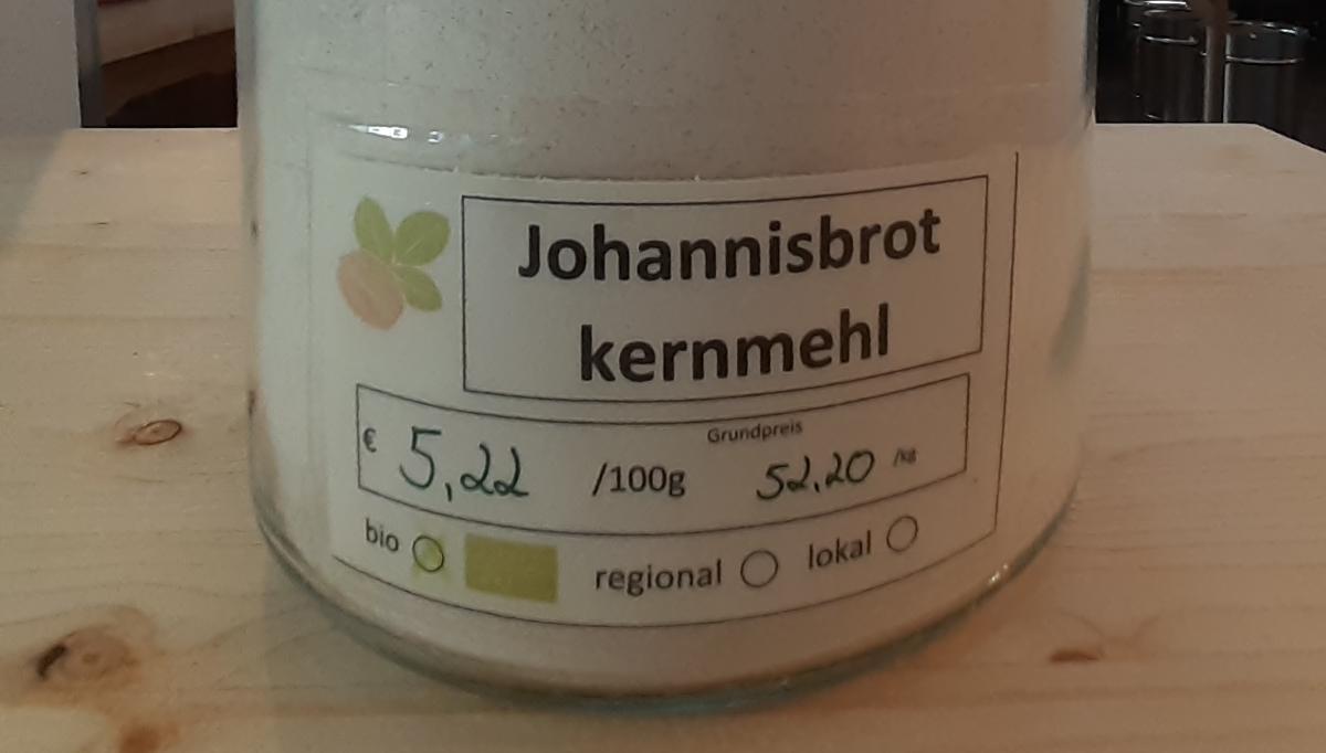 Johannesbrotkernmehl