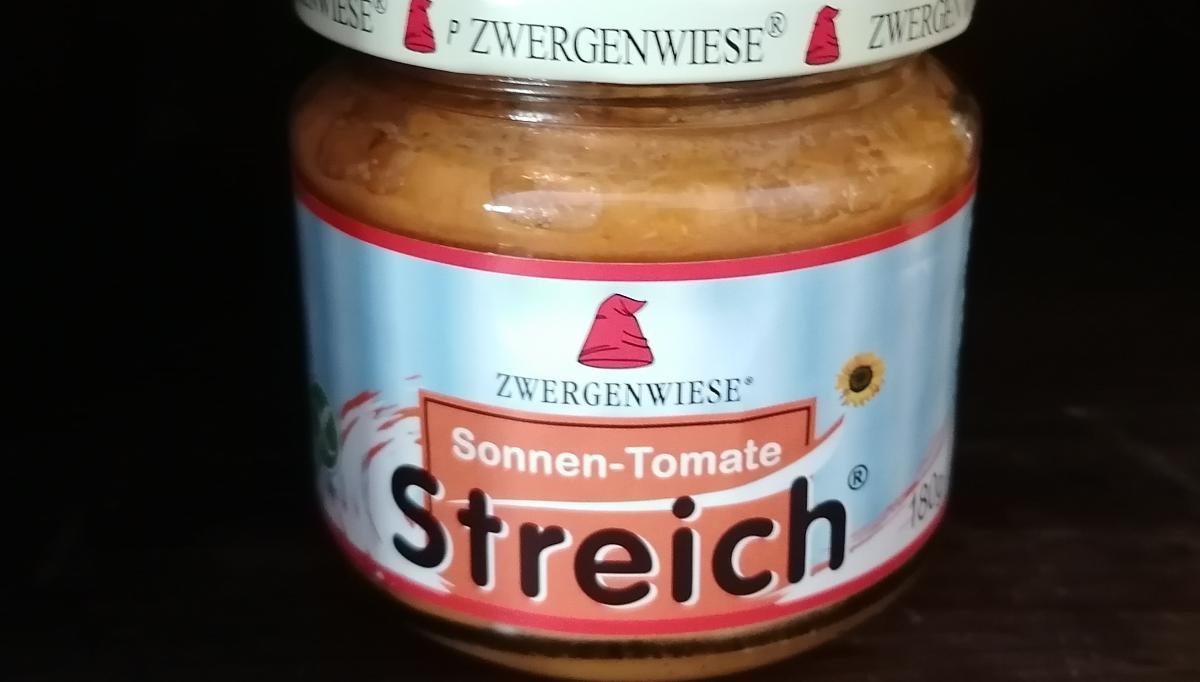 Aufstrich Zwergenwiese - Sonnen-Tomate Streich