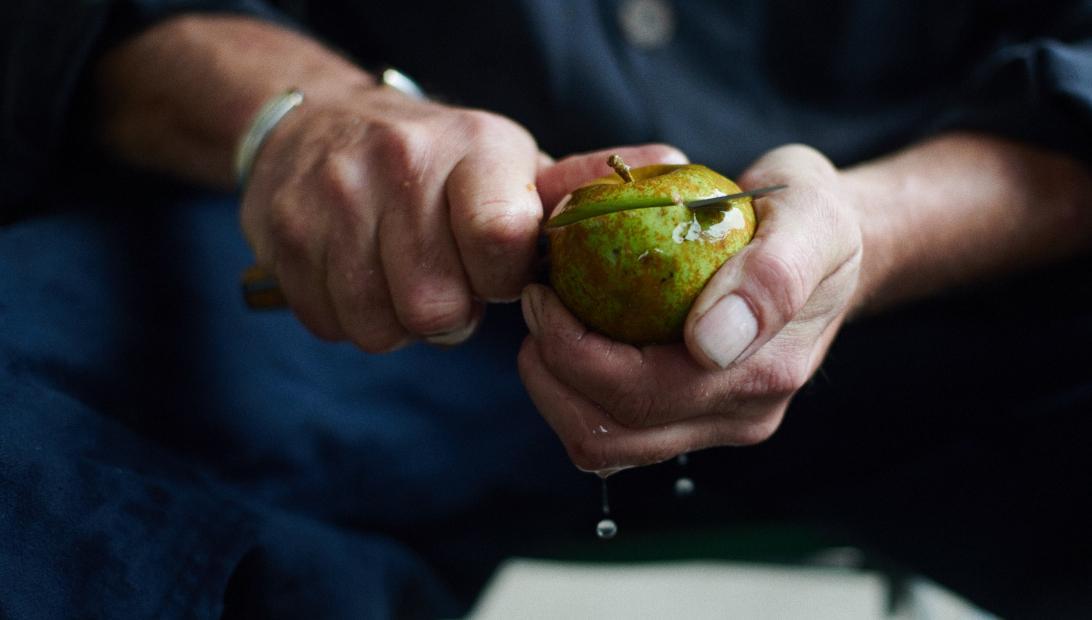 Apfelbrand sortenrein Klarapfel