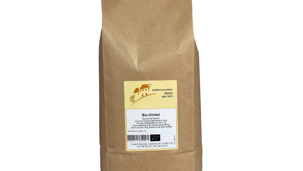 Bio-Dinkel ganze Körner 1kg