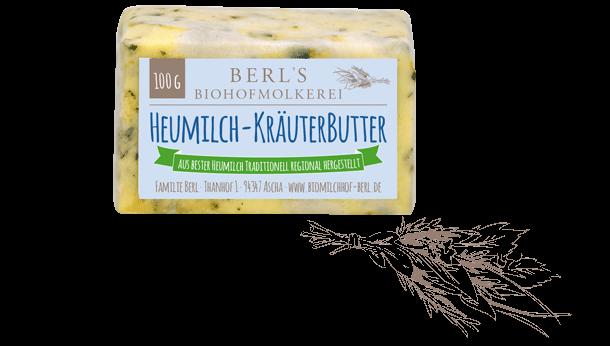 Heumilch-Kräuterbutter