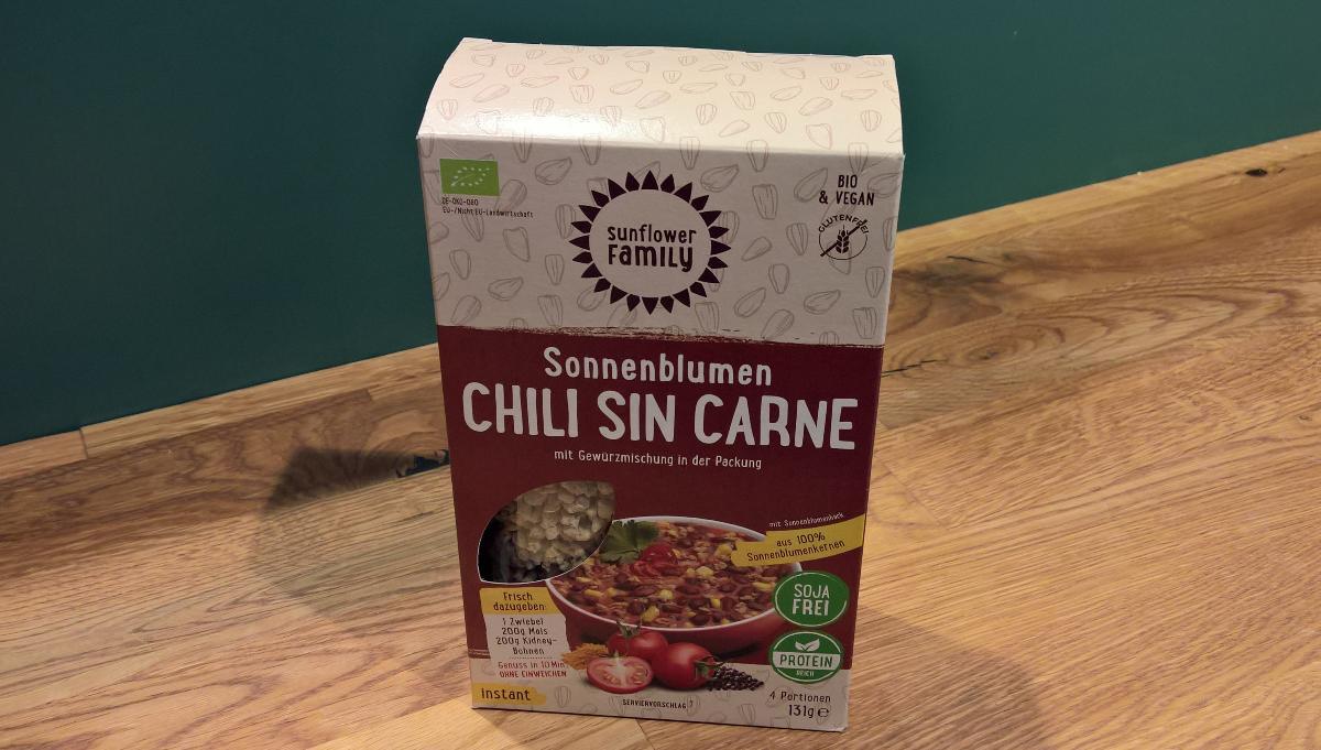 Chili sin Carne Sonnenblumenhack