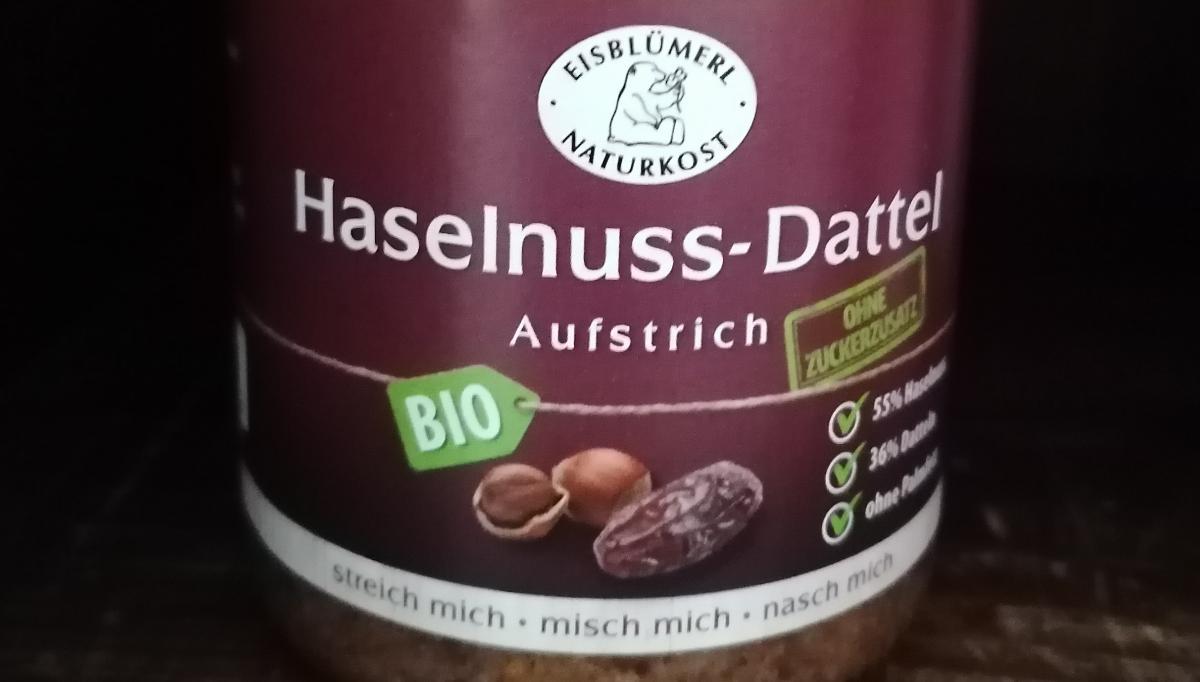 Aufstrich Haselnuss-Dattel