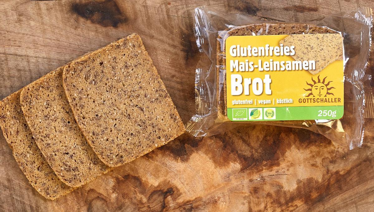 Mais-Leinsamen-Brot