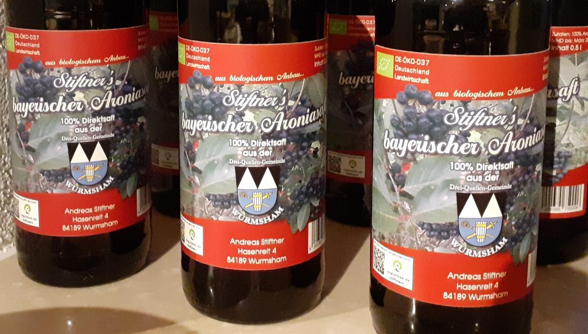 Stiftner's Bayerischer Aroniasaft