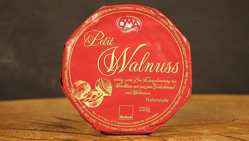 Le Petit Brie Walnuss ÖMA
