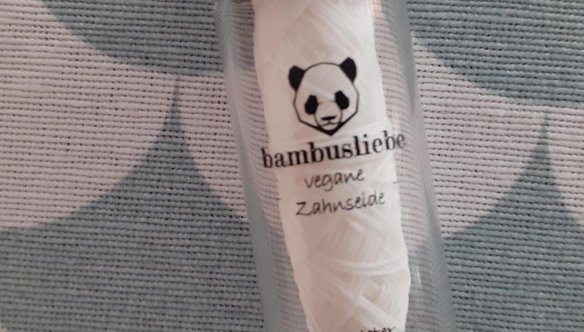 Zahnseide von Bambusliebe