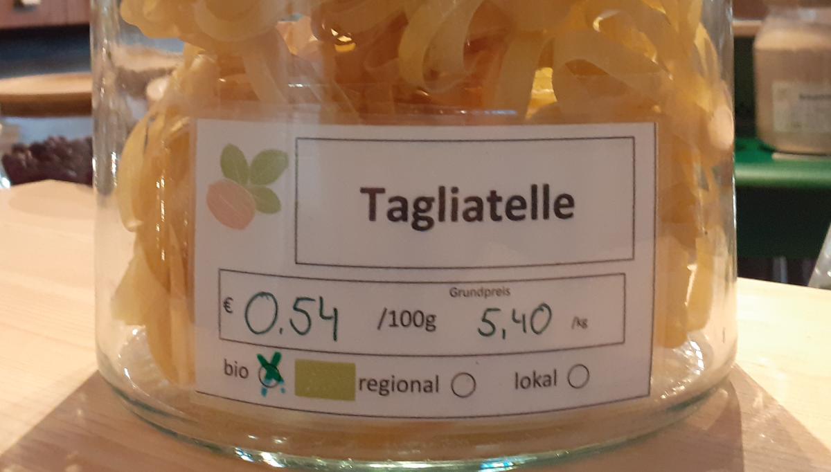 Weizen-Tagliatelle