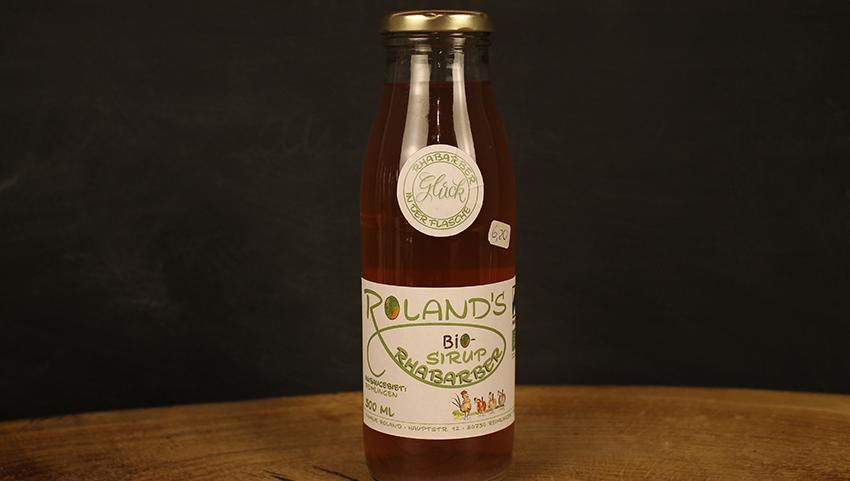Rhabarber Sirup 500 ml Roland's