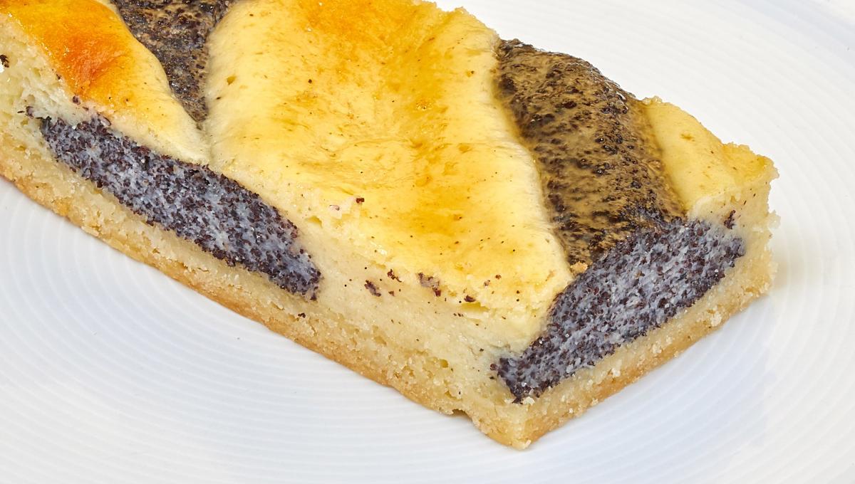 Quark-Mohnkuchen