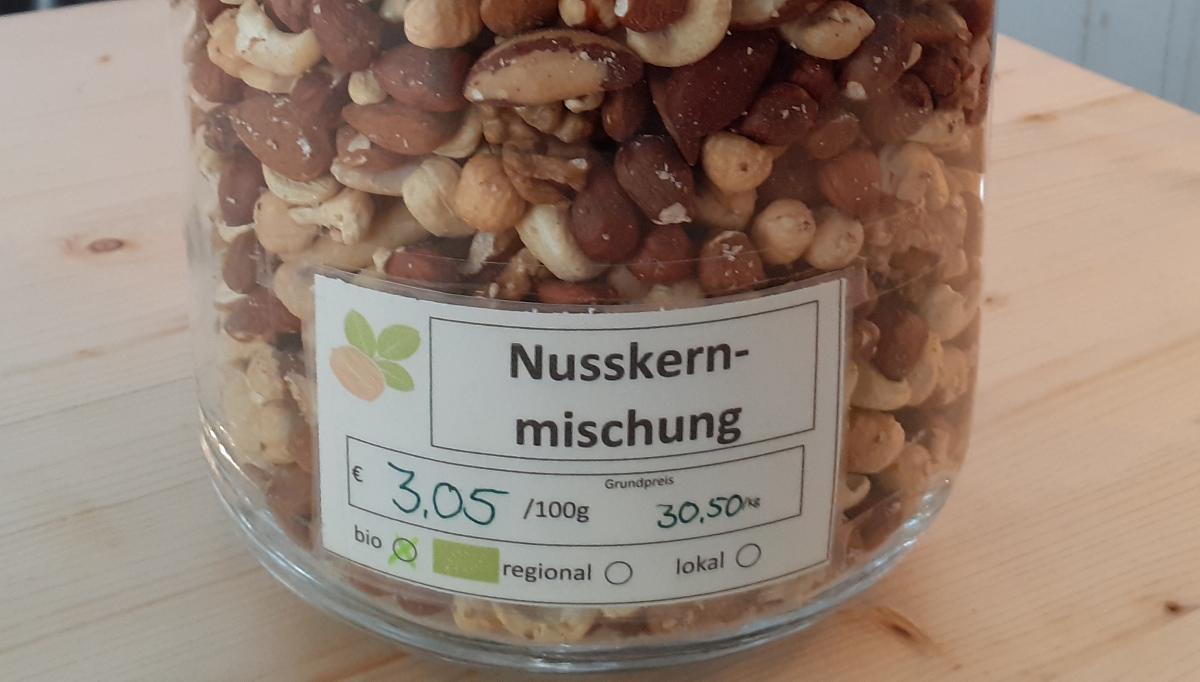 Nusskern-Mischung