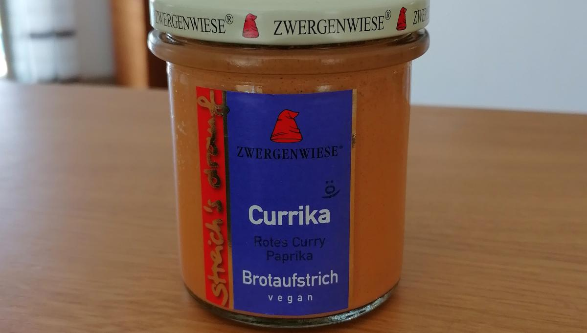 Aufstrich Zwergenwiese: Streich´s drauf - Currika / Rotes Curry und Paprika