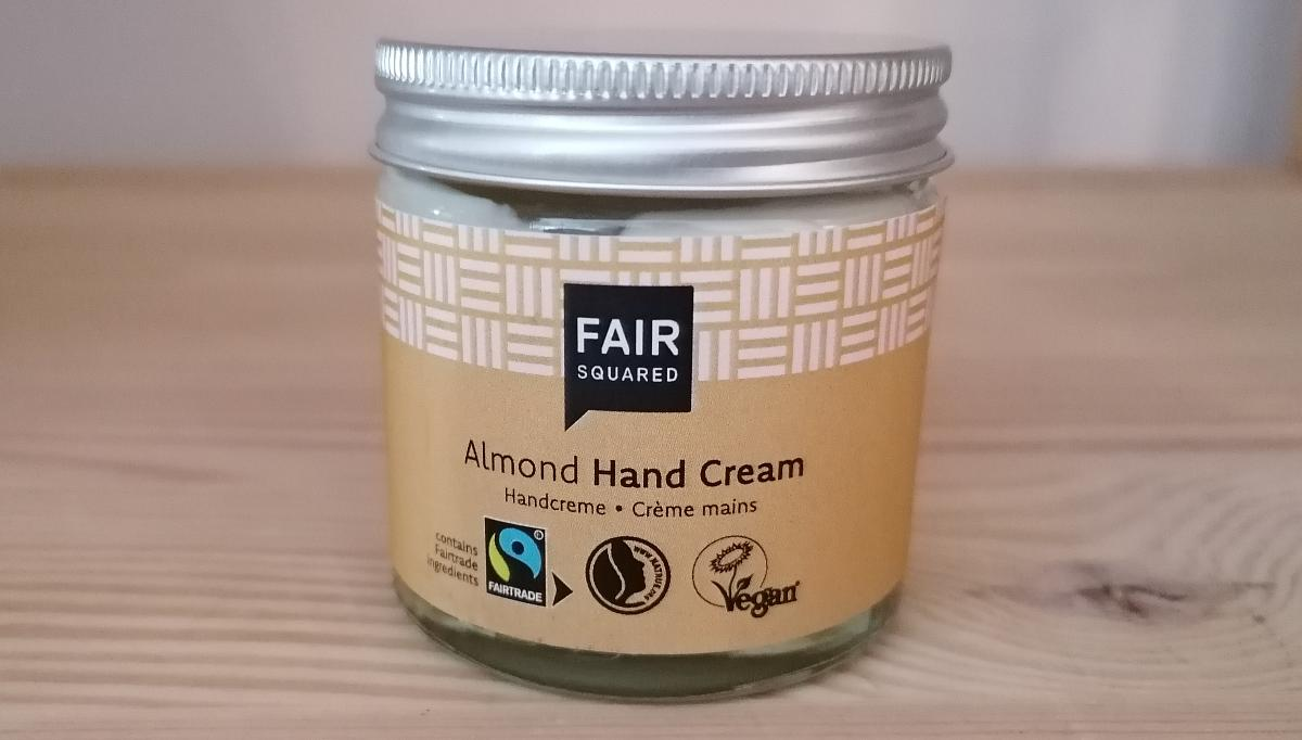 Fair Squared - Hand Cream Almond