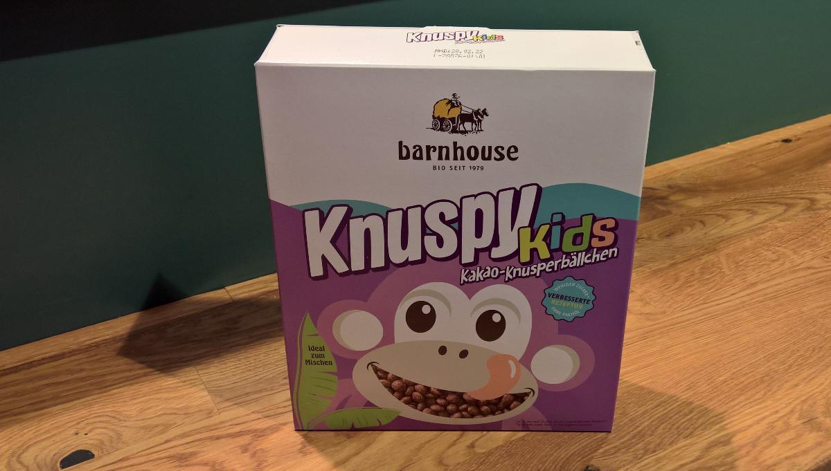 Knuspy Kids Reis Kakao