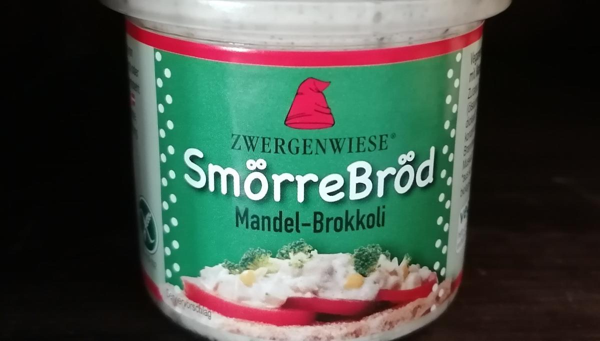 Aufstrich Zwergenwiese: SmörreBröd, Mandel-Brokkoli