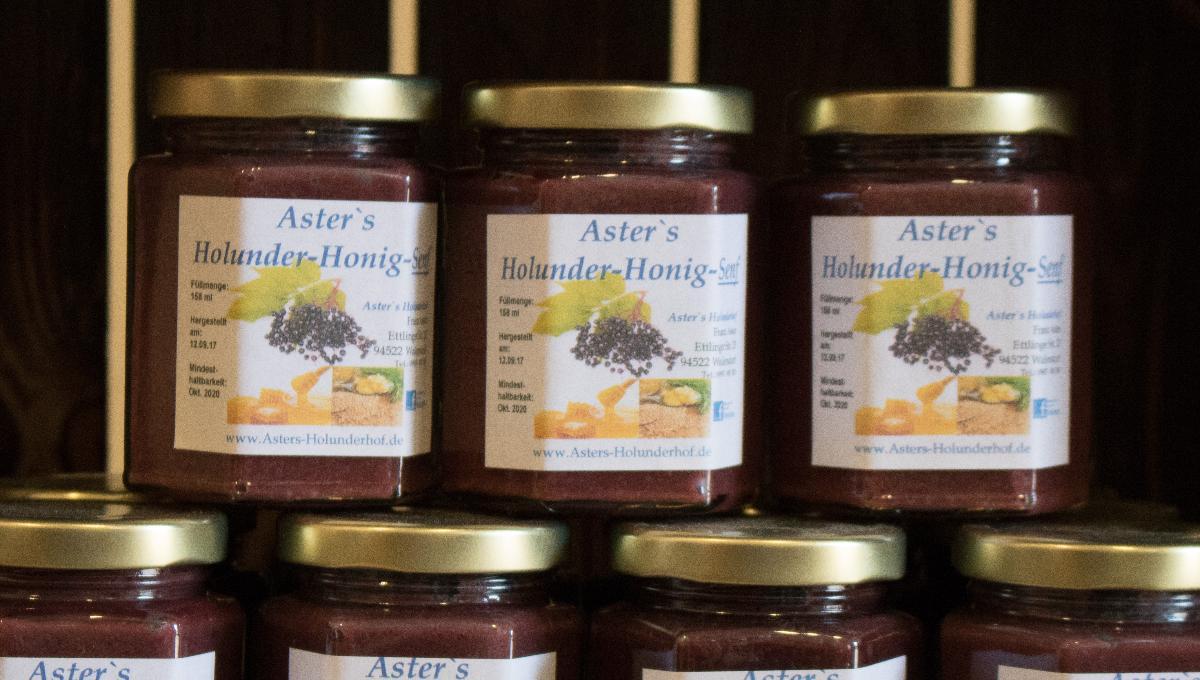 Holunder-Honig-Senf