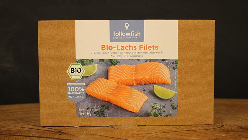 Lachsfilet 160g followfish