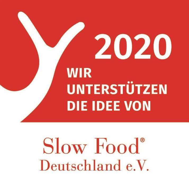Logo Unterstützer von Slow Food Deutschland