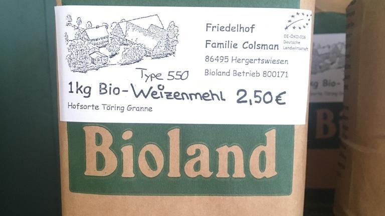 Bio-Weizenmehl Typ 550
