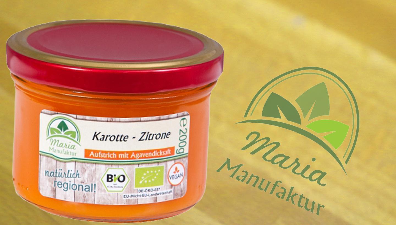 Fruchtaufstrich Karotte-Zitrone