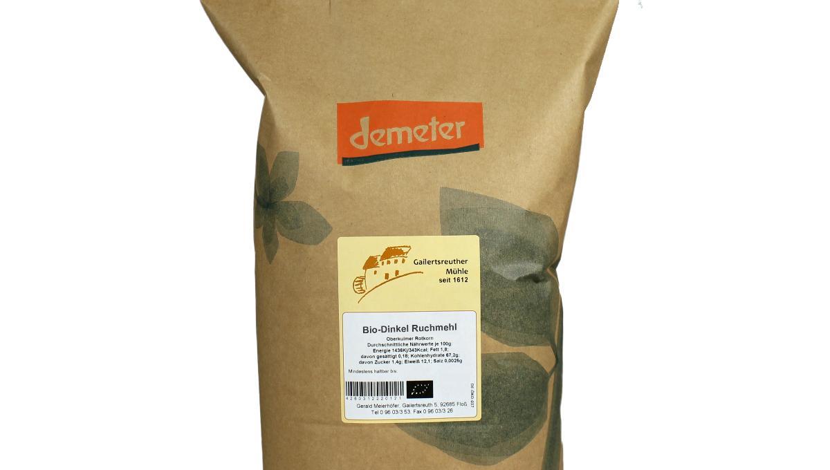 Bio-Dinkel-Ruchmehl 1kg