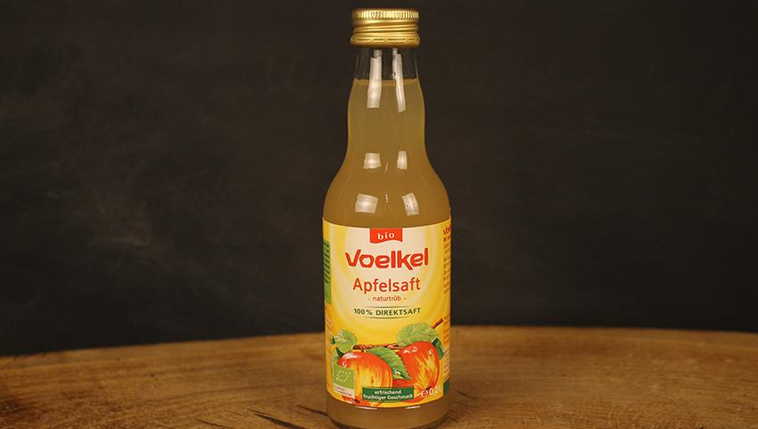 Apfelsaft naturtrüb 0,2l Voelkel