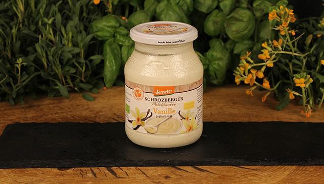 Joghurt Vanille Schrozberger 500g