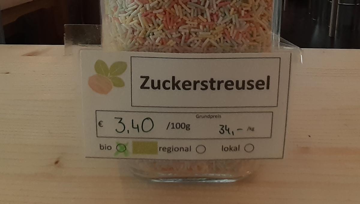 Zuckerstreusel