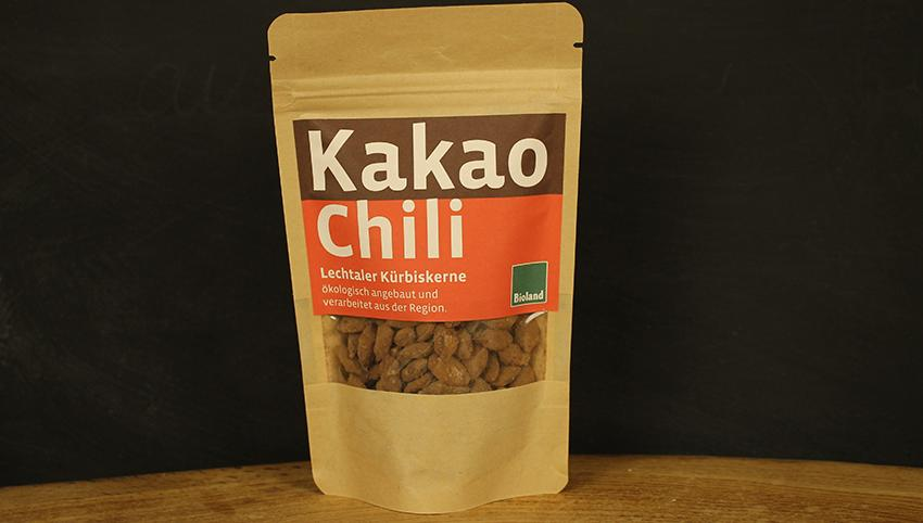 Lechtaler Kürbiskerne Kakao Chili 60g