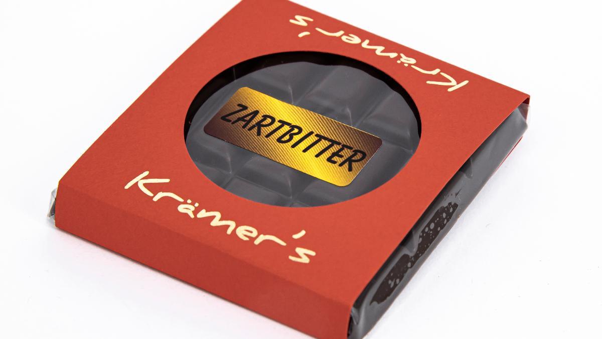 Zartbitter-Marzipan Schokolade 50g Krämer