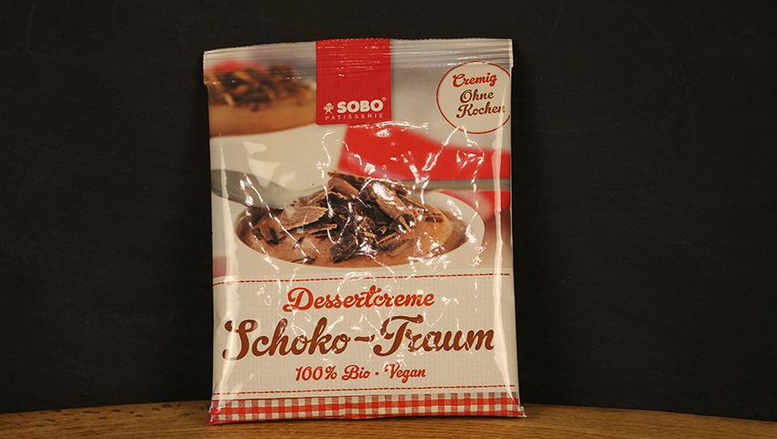 Dessertcreme Schokotraum, 74g Sobo