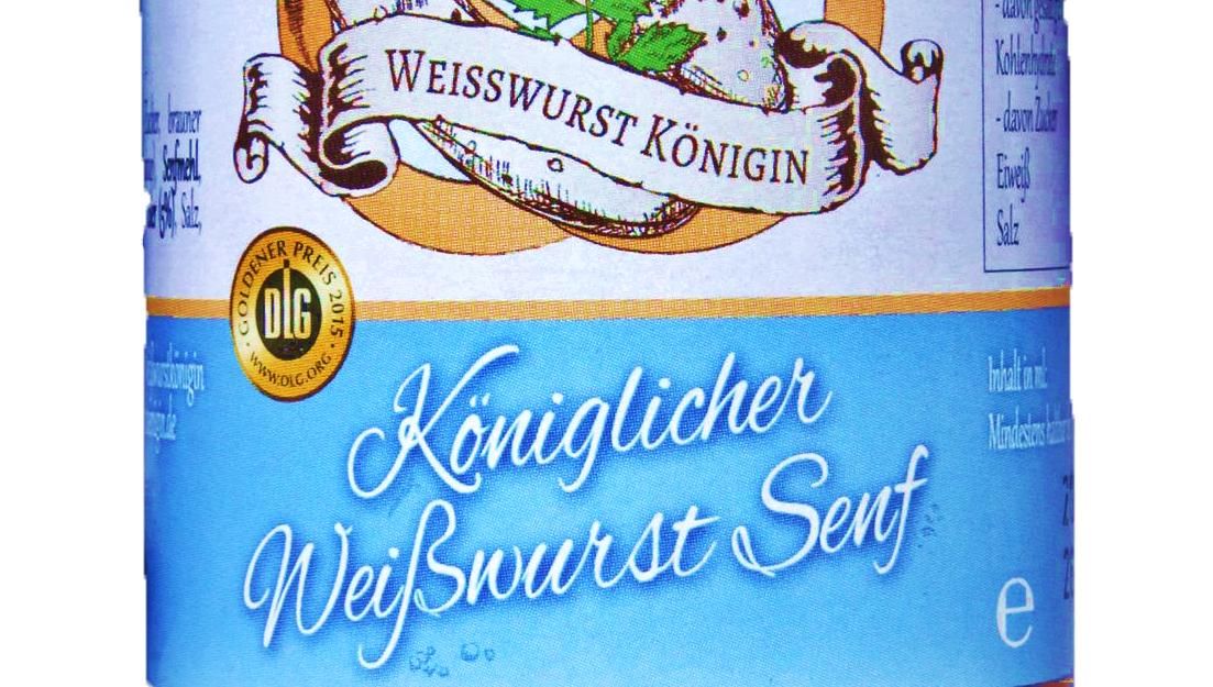 Königlicher Weißwurst Senf
