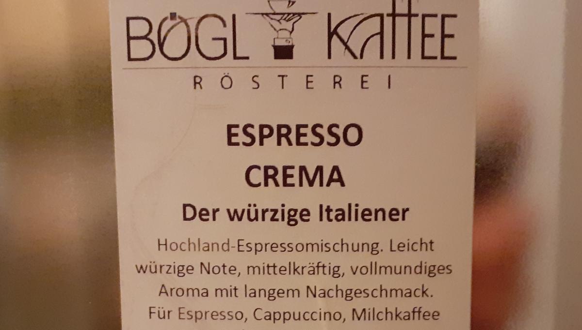 Espresso Crema - der würzige Italiener